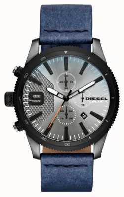 Diesel Mens Rasp Chrono Denim-Look Watch DZ4456