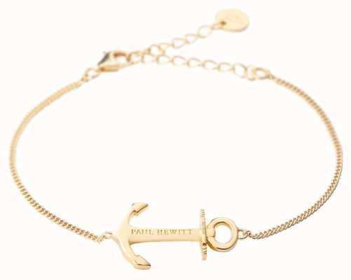 Paul Hewitt Anchor Spirit Gold Bracelet PH-AB-G