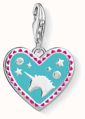 Thomas Sabo Heart With Unicorn Charm 1470-041-17