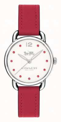Coach Woman's Delancey Red Leather 14502905