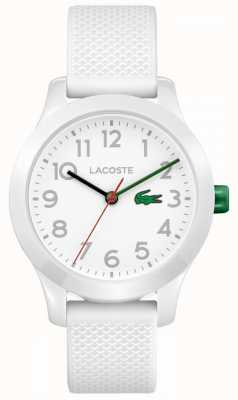 Lacoste 12.12 Kids Watch White Rubber Strap 2030003