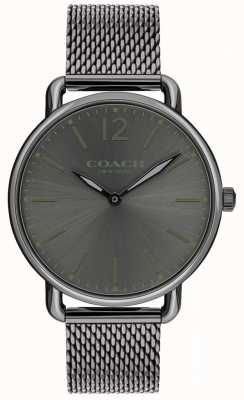 Coach Woman's Delancey Grey Mesh Strap 14602350