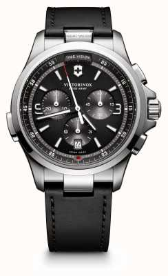 Victorinox Swiss Army Night Vision Chronograph Grey Dial 241785