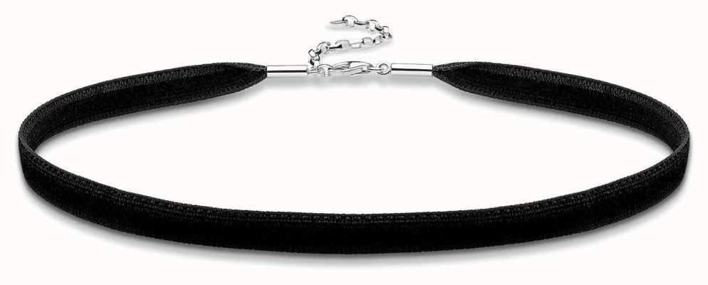 Thomas Sabo Sterling Silver Black Velvet Choker KE1728-331-11-L36V