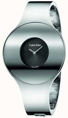 Calvin Klein Womans Silver Steel Seamless Watch Medium K8C2M111