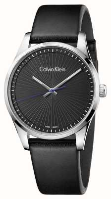 Calvin Klein Mens Steadfast Watch Black K8S211C1