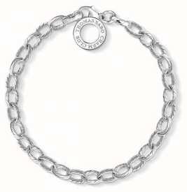 Thomas Sabo Sterling Silver Plain Bracelet 20cm X0230-001-12-L20