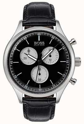 Boss Mens Companion Chronograph Watch Black 1513543