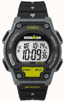 Timex Mens Endure Shock 30 LP Black And Lime TW5M13800D7PF