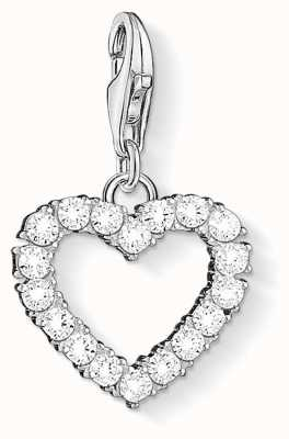 Thomas Sabo CZ Heart Charm Pendant 1482-051-14