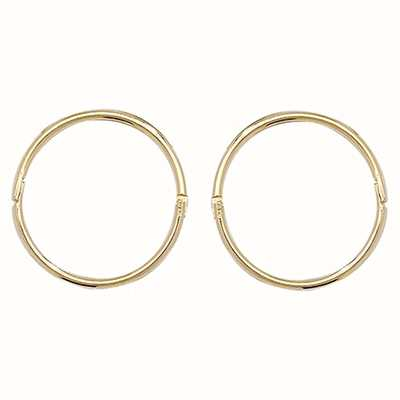 Treasure House 9k Yellow Gold Hinged Sleepers 12 mm ES145