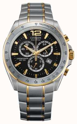 Citizen Eco-Drive Chronograph Two Tone AT2074-58E