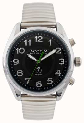 Acctim Mens Highclere Radio Controlled Talking Watch 60353BRA