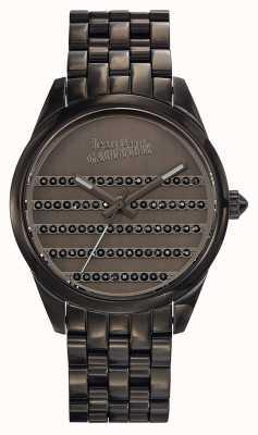 Jean Paul Gaultier Navy Gun Metal Bracelet And Dial JP8502406