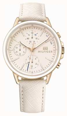 Tommy Hilfiger Carly | Blush Leather Strap | Blush Dial 1781789