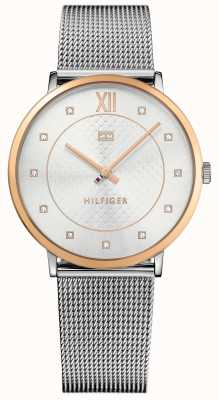 Tommy Hilfiger Sloane Rose Gold With Mesh Strap 1781811