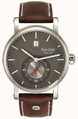 Bruno Sohnle Taranis Automatic 43mm Brown Leather Watch 17-12165-841