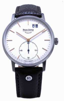 Bruno Sohnle Stuttgart II 42mm Brown Leather Watch 17-13179-245