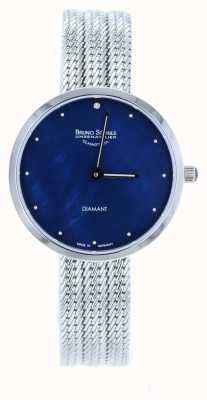 Bruno Sohnle Nofrit 34mm Stainless Steel Mesh Watch 17-13171-350