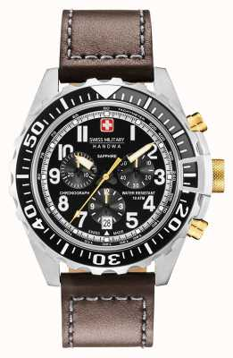 Swiss Military Hanowa Mens Touchdown Chronograph Stainless Steel Case 06-4304.04.007.05