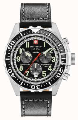 Swiss Military Hanowa Mens Touchdown Chronograph Stainless Steel Case 06-4304.04.007.07