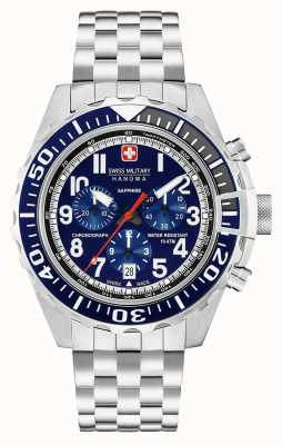 Swiss Military Hanowa Mens Touchdown Chronograph Navy 06-5304.04.003
