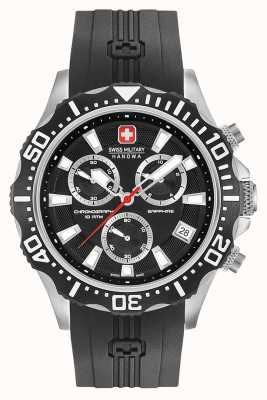 Swiss Military Hanowa Mens Patrol Chronograph Matt Black Dial 06-4305.04.007
