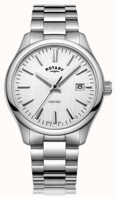 Rotary Mens Oxford Stainless Steel Bracelet Watch GB05092/02
