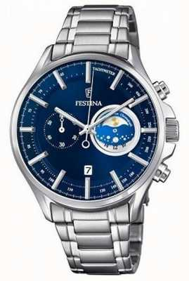 Festina Mens Sport Cheronograph Watch Stainless Steel F6852/2