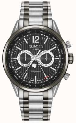 Roamer Mens Superior Business Multi-function Watch 508822405450