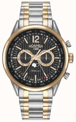 Roamer Mens Superior Business Multi-function Watch 508822495450