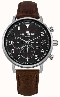 Ben Sherman Mens Portobello Military Chronograph Watch WB068BBR