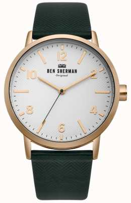Ben Sherman Mens Biig Portobello Herringbone Watch WB070NBR