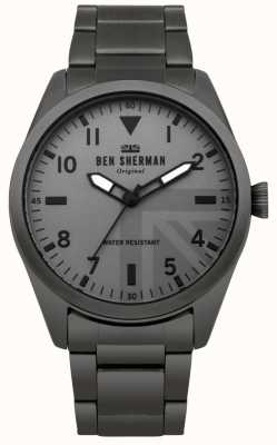 Ben Sherman Mens Carnaby Military Watch WB074BSM