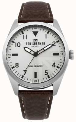 Ben Sherman Mens Carnaby Military Watch WB074BR