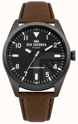 Ben Sherman Mens Carnaby Military Watch WB074BT