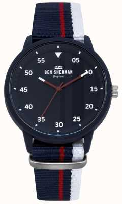 Ben Sherman Mens Blue Watch WB076U