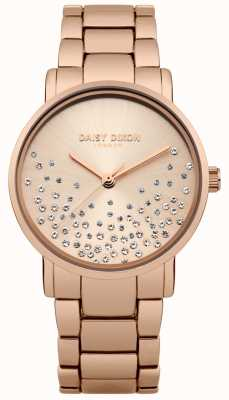 Daisy Dixon Rose Gold Bracelet Rose Gold Sunray Dial DD053RGM