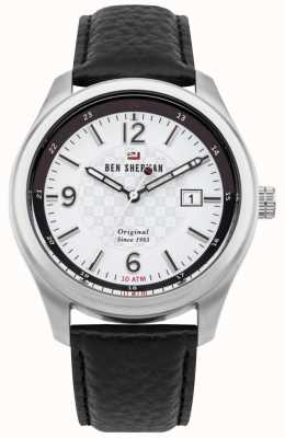 Ben Sherman The Sugarman Social Silver Stainless Steel Case WBS106WB