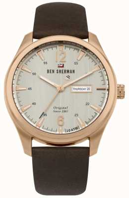 Ben Sherman The Sugarman Heritage Champagne Dial Rose Gold Case WBS105TRG