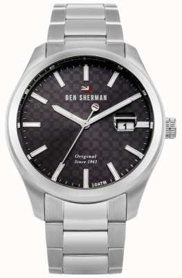 Ben Sherman The Ronnie Professional Stainless Steel Bracelet Date WBS109TSM