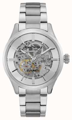 Kenneth Cole New York Automatic Skeleton Dial Stainless Steel KC15171002