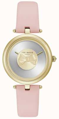 Ted Baker Womens Andrea Gold Bow Dial Pink Leather Strap TE15199001
