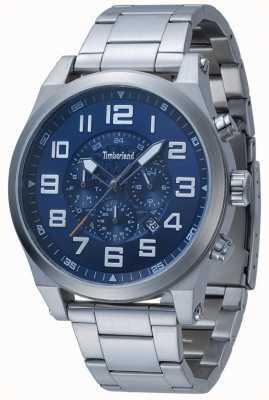 Timberland Tilden Blue Multi Dial Stainless Steel Bracelet 15247JS/03M