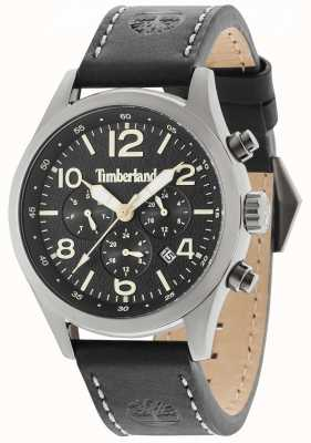Timberland Ashmont Black Leather Strap Black Multi Dial 15249JSU/02