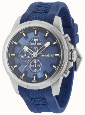 Timberland Boxford Blue Silicone Strap Blue Dial 15253JS/03P