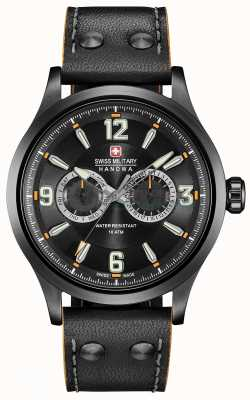 Swiss Military Hanowa Undercover Multifunction Black Dial 06-4307.30.007