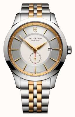 Victorinox Swiss Army Alliance Large 44mm Silver Two Tone Dial & Bracelet 241764