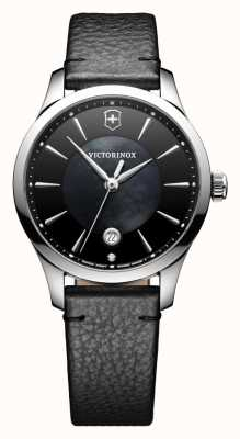 Victorinox Swiss Army Alliance Small Black Dial Black Leather Ex-Display 241754 Ex-Display