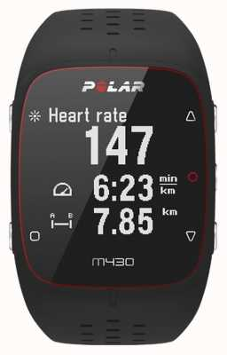 Polar Unisex M430 Smart Activity Tracker Bluetooth Wrist HR Alarm 90066337